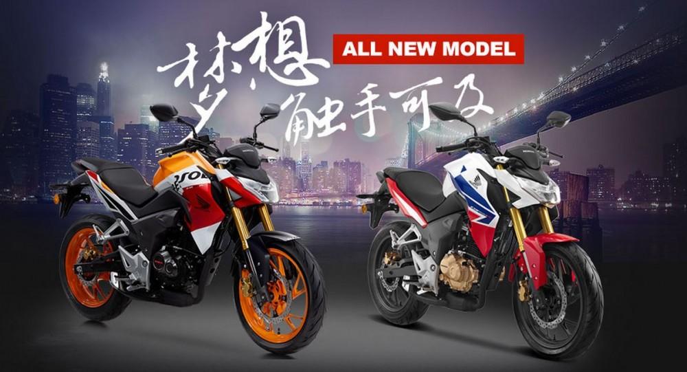Honda CB190R CBF190R chinh thuc ra mat thi truong