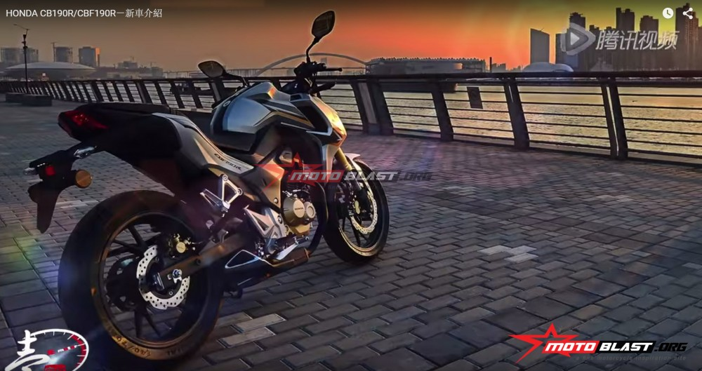 Honda CB190R CBF190R chinh thuc ra mat thi truong - 2