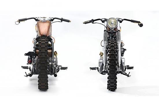 Honda CB450 ban do bobber chua dung nhieu tam huyet - 2