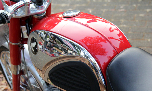Honda CB72 xe co hang hiem o Indonesia gia 11000 USD - 5