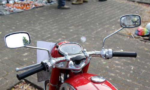 Honda CB72 xe co hang hiem o Indonesia gia 11000 USD - 3