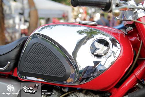 Honda CB72 xe co hang hiem o Indonesia gia 11000 USD - 8