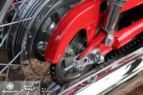 Honda CB72 xe co hang hiem o Indonesia gia 11000 USD - 14