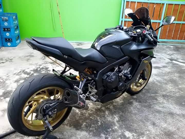 Honda CBR 650F do dep cung nhieu do choi hieu tai Thailan - 6