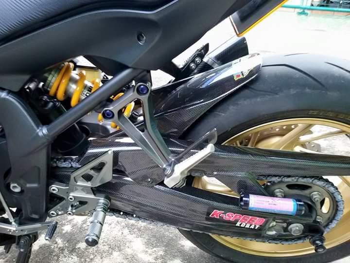 Honda CBR 650F do dep cung nhieu do choi hieu tai Thailan - 7