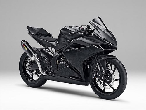 Honda chuan bi ra mat them phien ban sportbike CBR350RR