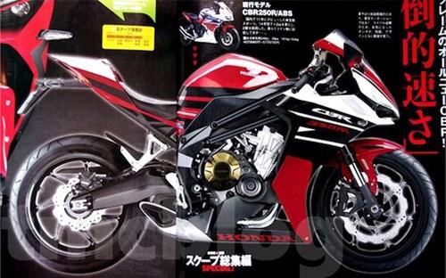 Honda chuan bi ra mat them phien ban sportbike CBR350RR - 2