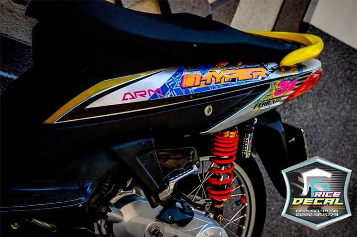 Honda click phien ban duoc coi la kieng nhe - 2