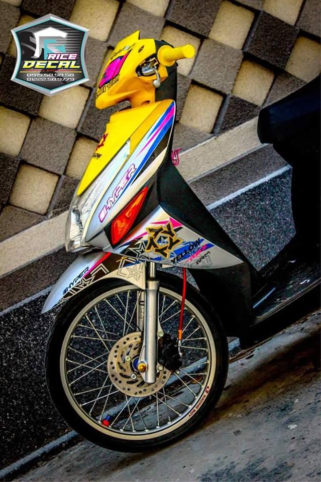 Honda click phien ban duoc coi la kieng nhe - 3