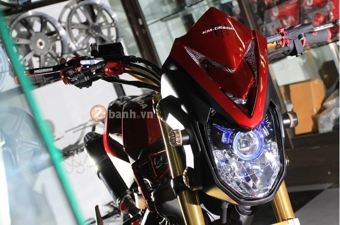 Honda MSX dep tuyet voi voi ban do phong cach Night Life - 2