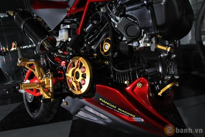 Honda MSX dep tuyet voi voi ban do phong cach Night Life - 4