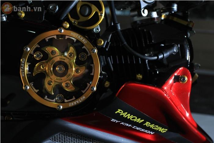Honda MSX dep tuyet voi voi ban do phong cach Night Life - 5