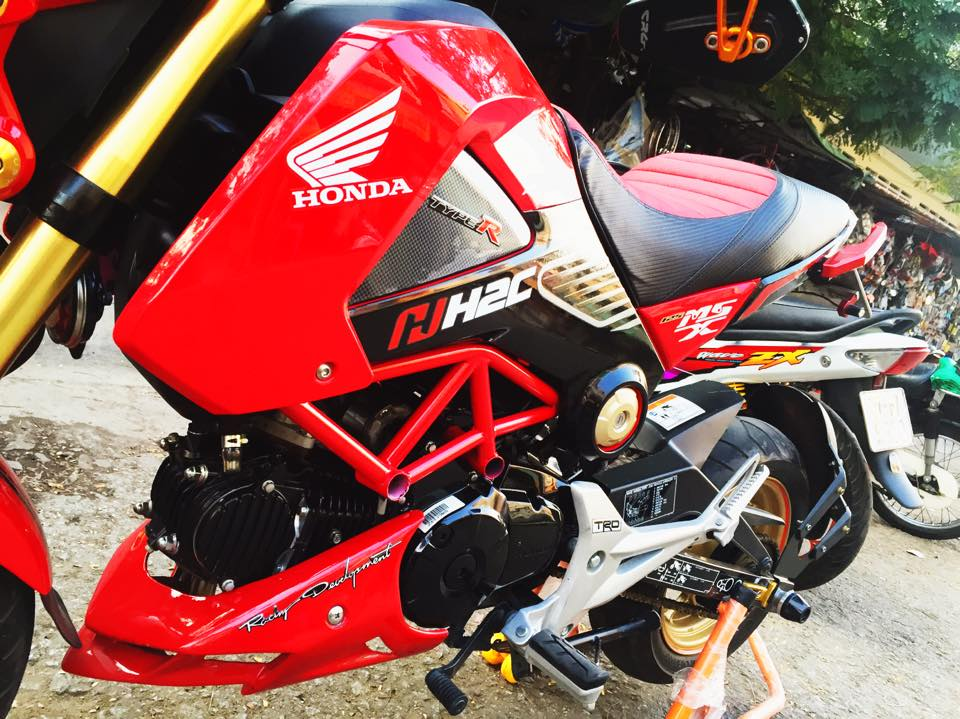 Honda MSX do phong cach voi phien ban H2C - 3