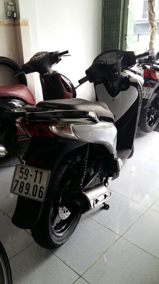Honda Sh125i vn mau y doi 2010 - 2