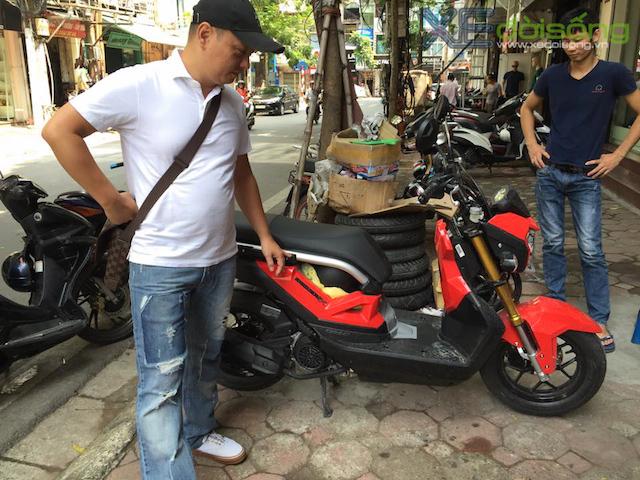 Honda Zoomer X 2016 gia 62 trieu dong tai Ha Noi - 4