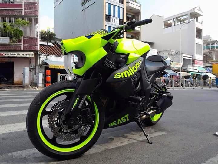 Kawasaki Z1000 do doc dao voi phien ban Ho rang kiem