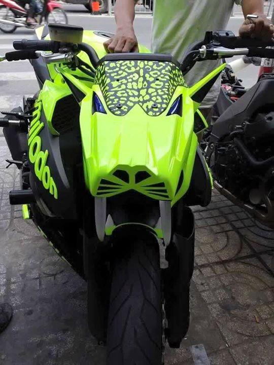 Kawasaki Z1000 do doc dao voi phien ban Ho rang kiem - 2