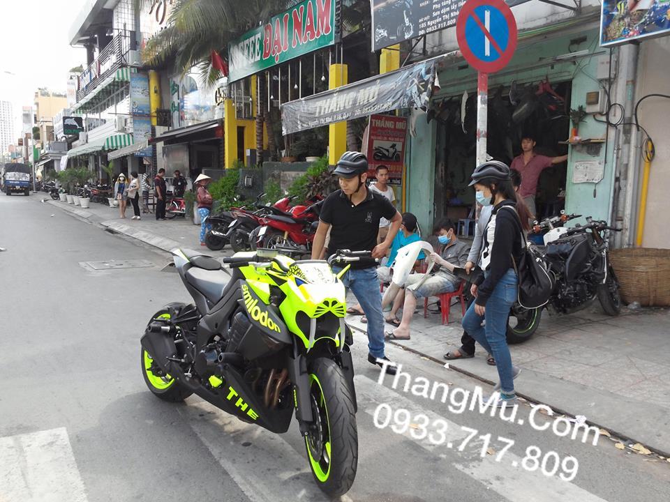 Kawasaki Z1000 do doc dao voi phien ban Ho rang kiem - 5