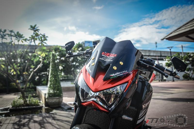 Kawasaki Z800 do cuc chat voi phien ban Street Racing - 2