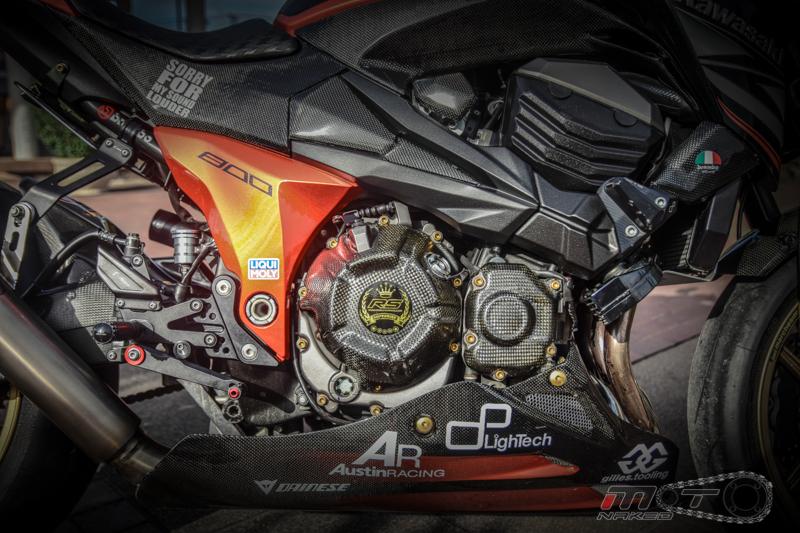 Kawasaki Z800 do cuc chat voi phien ban Street Racing - 19
