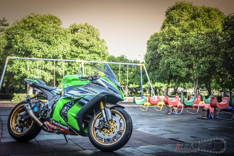 Kawasaki Ninja ZX10R phien ban 30 nam do sanh dieu tren dat Thai
