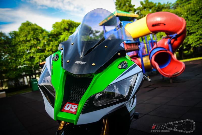 Kawasaki Ninja ZX10R phien ban 30 nam do sanh dieu tren dat Thai - 3