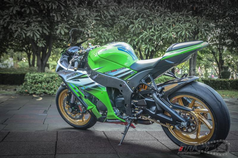 Kawasaki Ninja ZX10R phien ban 30 nam do sanh dieu tren dat Thai - 33