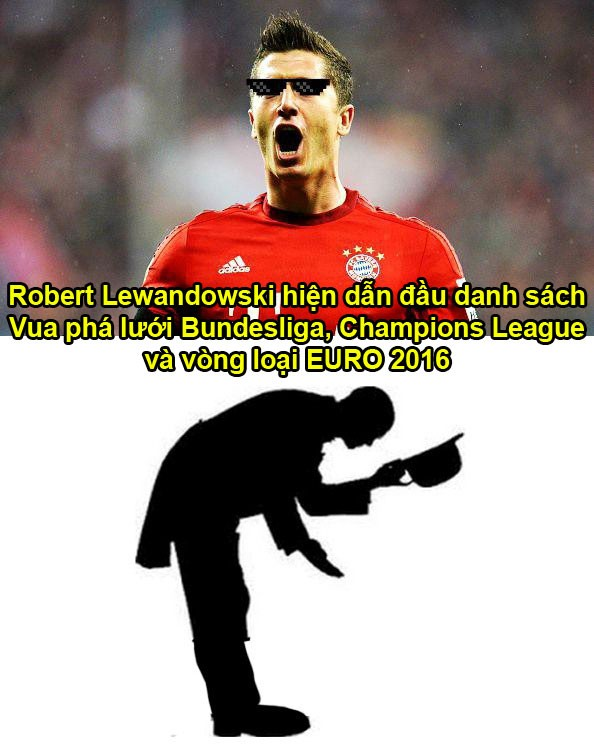 Khong phai Ronaldo hay Messi Lewandowski moi dang la chan sut dang so nhat the gioi