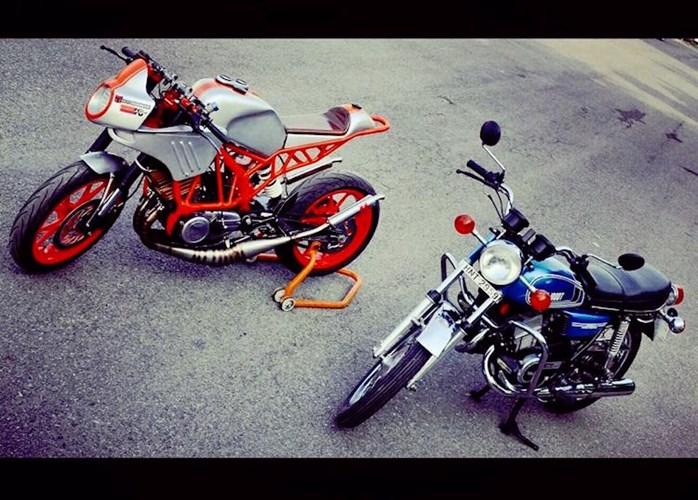 Len doi Yamaha 2 thi thanh KTM Duke cuc ki doc dao