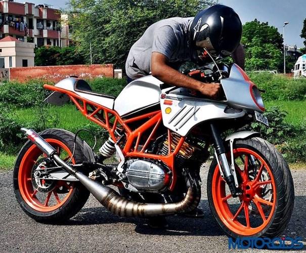 Len doi Yamaha 2 thi thanh KTM Duke cuc ki doc dao - 11