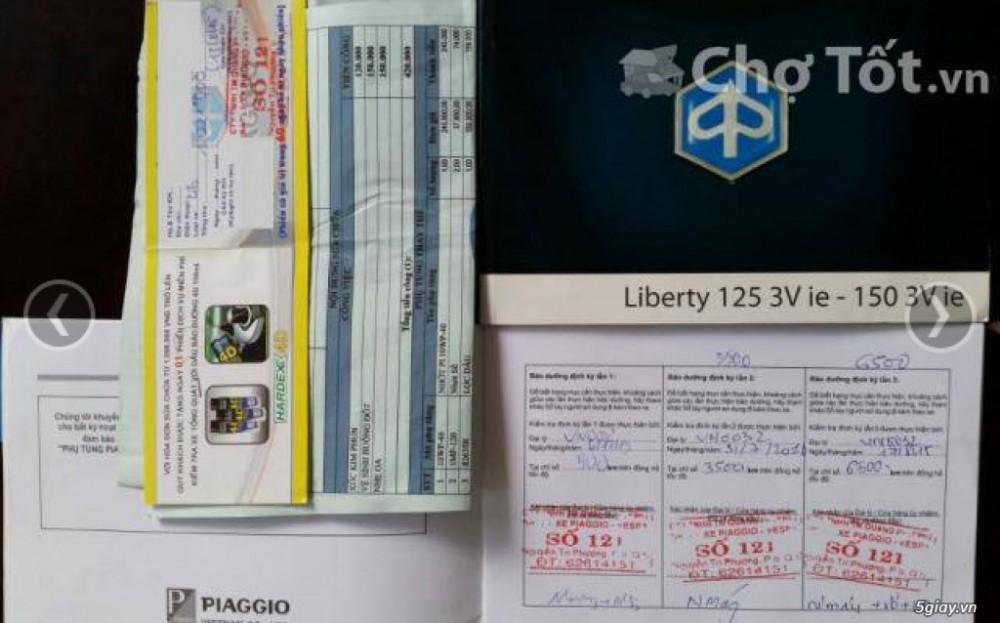 Liberty 125 3V ie Xanh Tiger Odo 9xxx km - 9