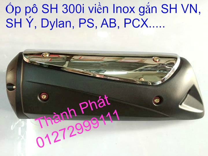 Chuyen Phu tung zin Do choi xe SHi150 2002 2013 Dylan PS - 7