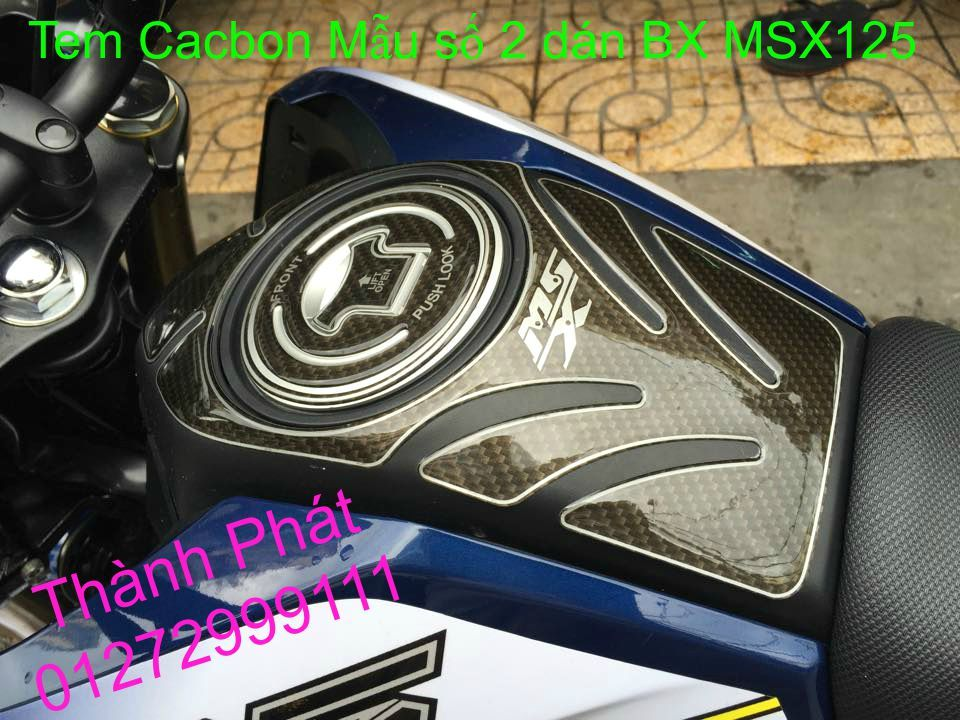 Do choi Honda MSX 125 tu A Z Po do Kinh gio Mo cay Chan bun sau de truoc Ducati Khung suo - 6