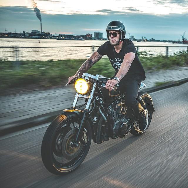 Mo to va Biker trong bo anh chat lu day phong cach tren Instagram - 12