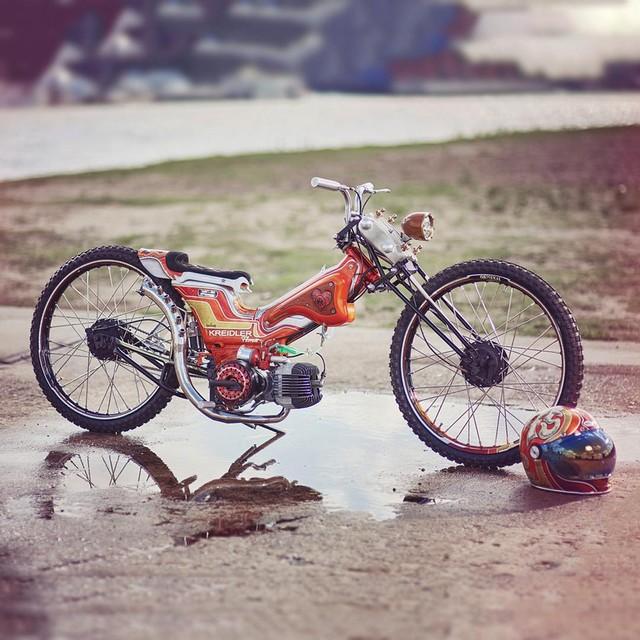 Mo to va Biker trong bo anh chat lu day phong cach tren Instagram - 14
