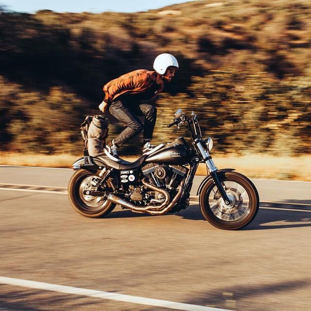 Mo to va Biker trong bo anh chat lu day phong cach tren Instagram - 18