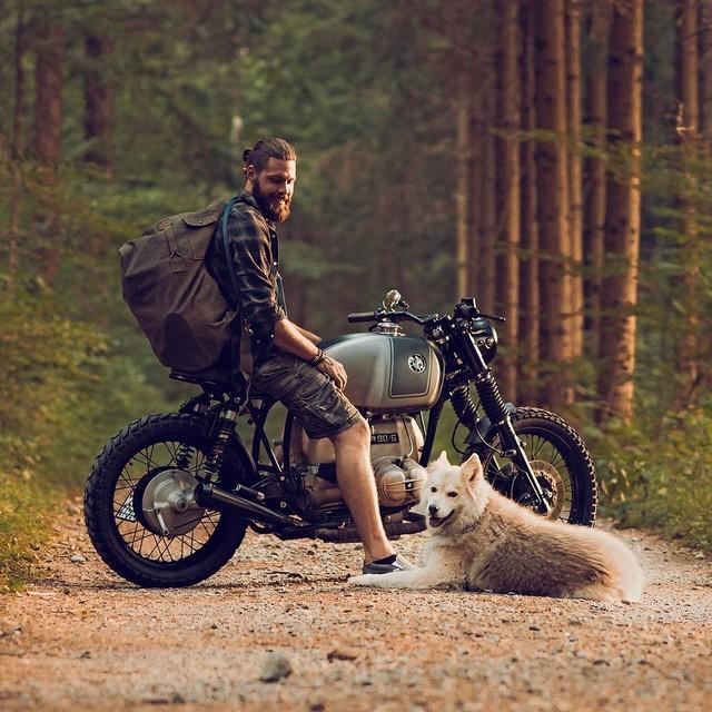 Mo to va Biker trong bo anh chat lu day phong cach tren Instagram - 19