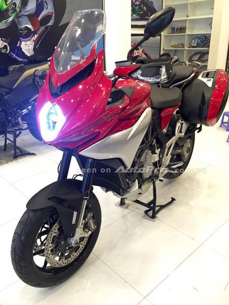 MV Agusta Turismo Veloce 800 Lusso Edition dau tien cua Chau A tai Viet Nam - 4