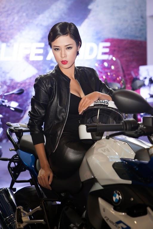 Nguoi dep Viet do dang cung cac chien binh BMW Motorrad - 7