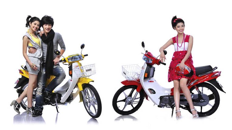Nhung mau xe may 50 phan khoi danh cho hoc sinh pho thong