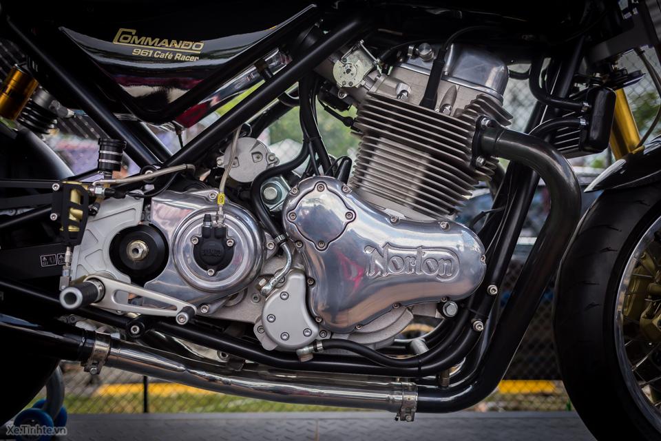 Norton Commando 961 Cafe Racer tai VMF 2015 - 15