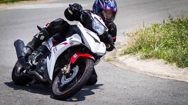 Nu biker 1995 choi xe mo to khien bao anh chang phai ne phuc - 5