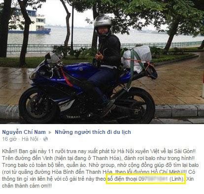 Nu biker 9x mot minh xuyen Viet cung Yamaha YZFR1 - 2