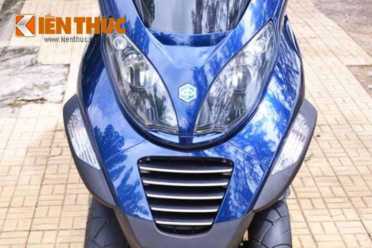 Piaggio MP3 250 mau xe tay ga PKL xuat hien tren pho Sai Gon - 4