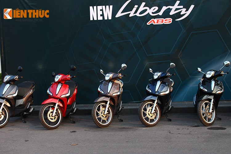 Piaggio Viet Nam ra mat Liberty ABS gia tu 555 trieu dong - 3
