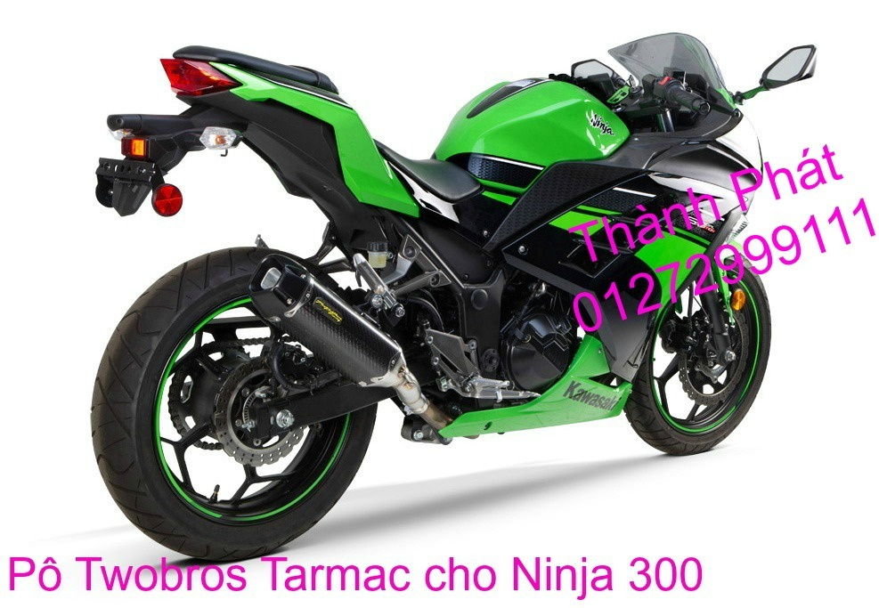 Po Twobros Hang chinh hang cho Ninja 300 R3 MSX125 Z800 Z1000 CBR1000 - 3