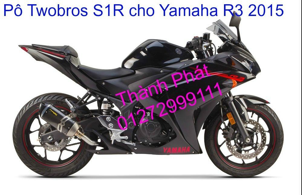 Po Twobros Hang chinh hang cho Ninja 300 R3 MSX125 Z800 Z1000 CBR1000 - 4