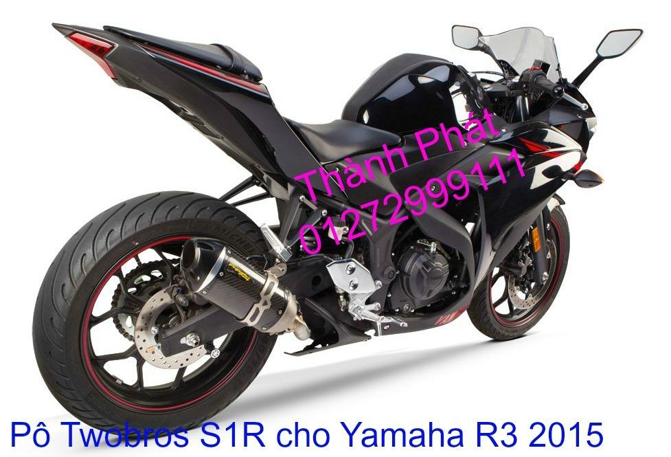 Po Twobros Hang chinh hang cho Ninja 300 R3 MSX125 Z800 Z1000 CBR1000 - 5