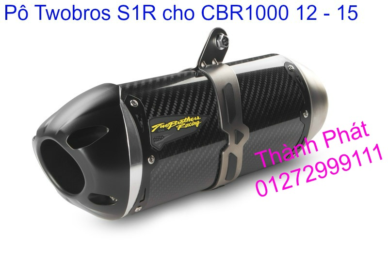 Po Twobros Hang chinh hang cho Ninja 300 R3 MSX125 Z800 Z1000 CBR1000 - 11