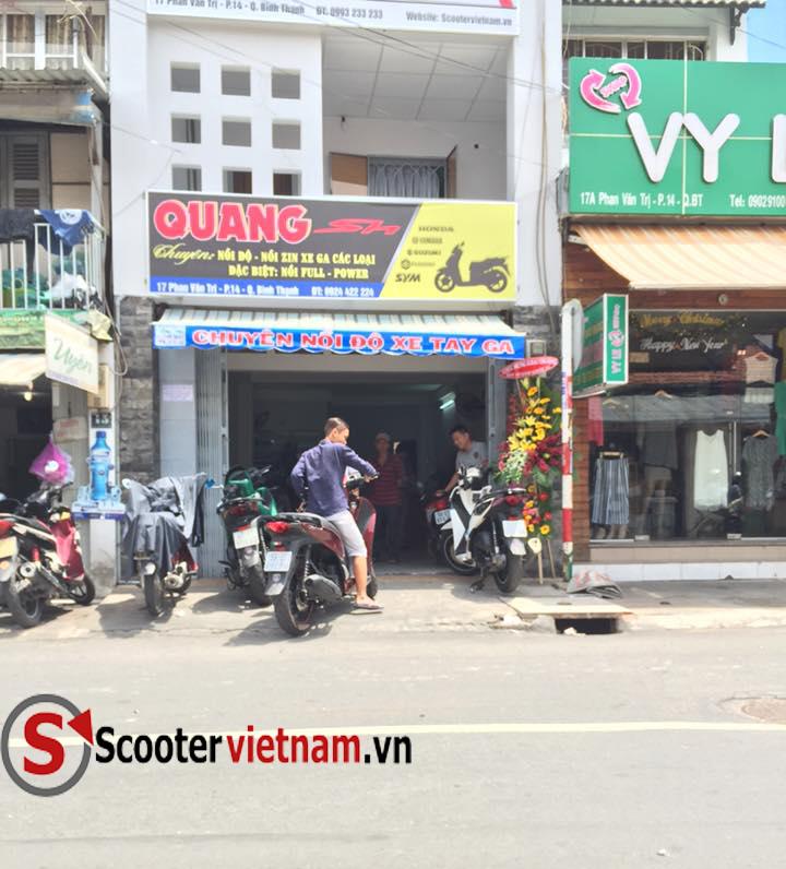 QuangSH Dia Chi Lam Noi Bao Duong Xe Tay Ga Uy Tin 1 TPHCM